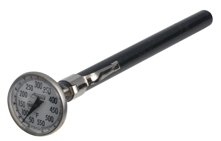 "Alegacy Pocket Test Thermometer 1"" Stainless Steel 50-550°F"
