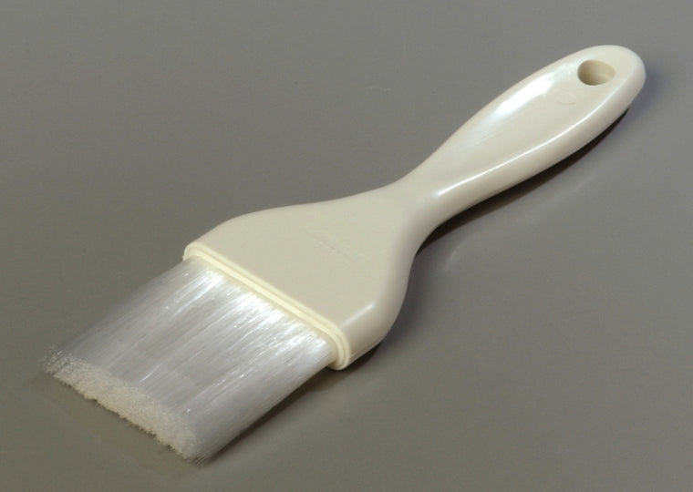 "2"" Pastry Brush with Nylon Bristles - White"
