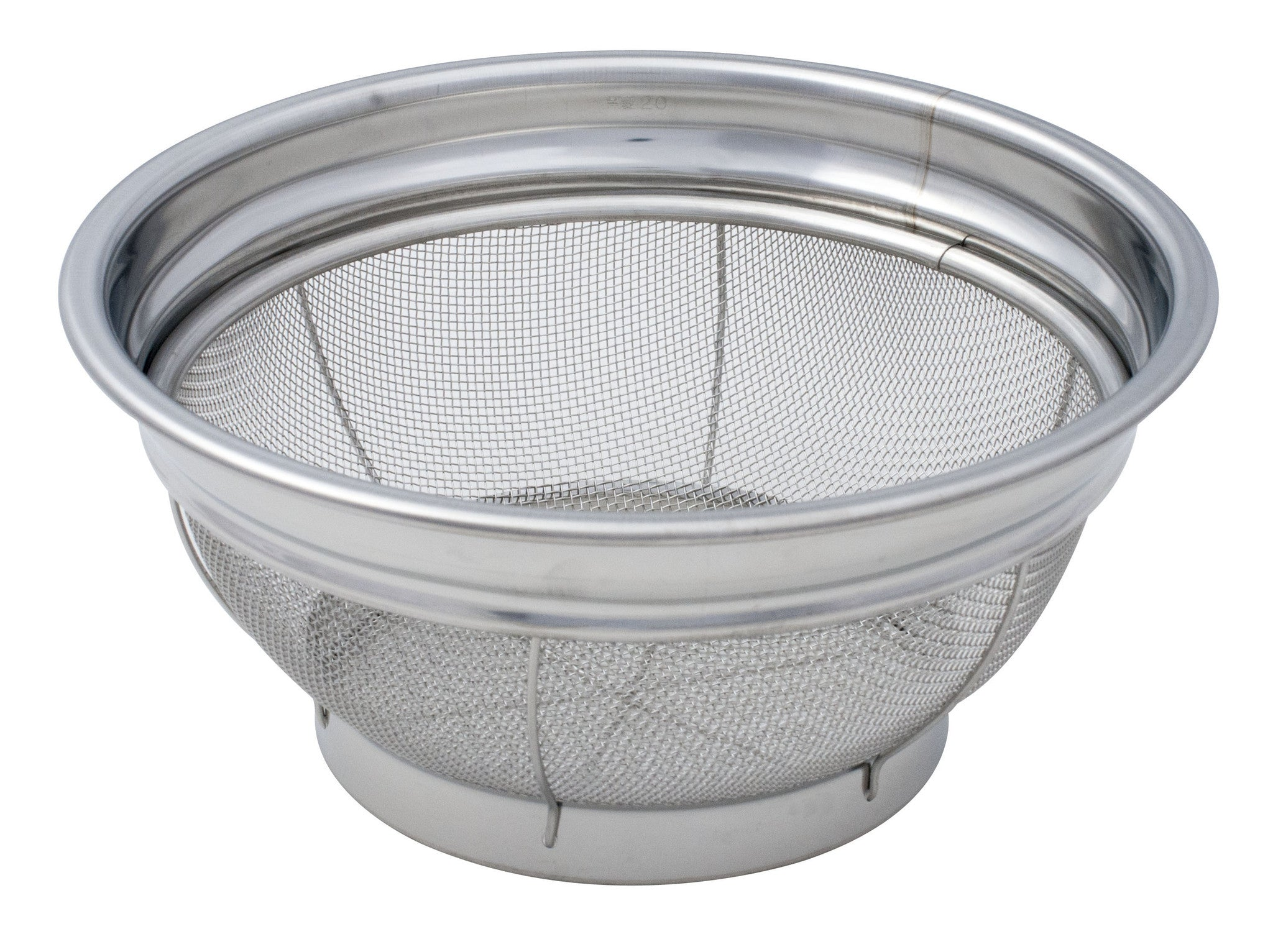 Round Stainless Steel Basket Strainer Singapore Pantry