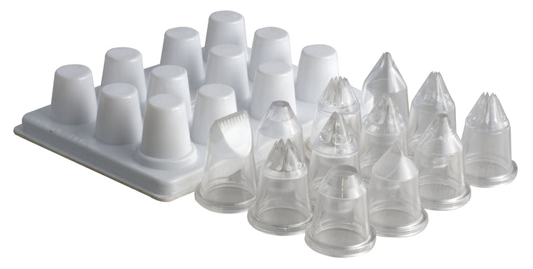 Matfer 12@S Ass Polycarbonate Nozzles/Tube