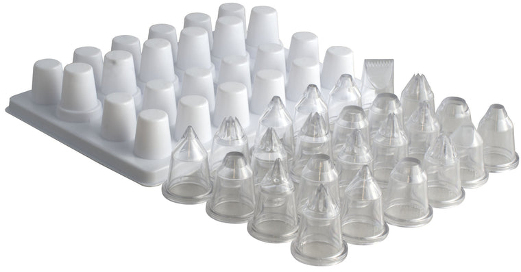 Matfer 24@S Ass Polycarbonate Nozzles/Tube