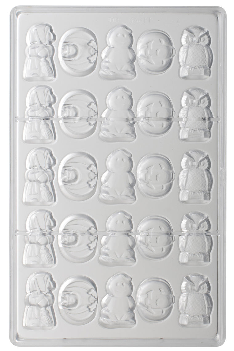 Matfer Chocolate Moulds Polycarbonate Holloween Item 25P
