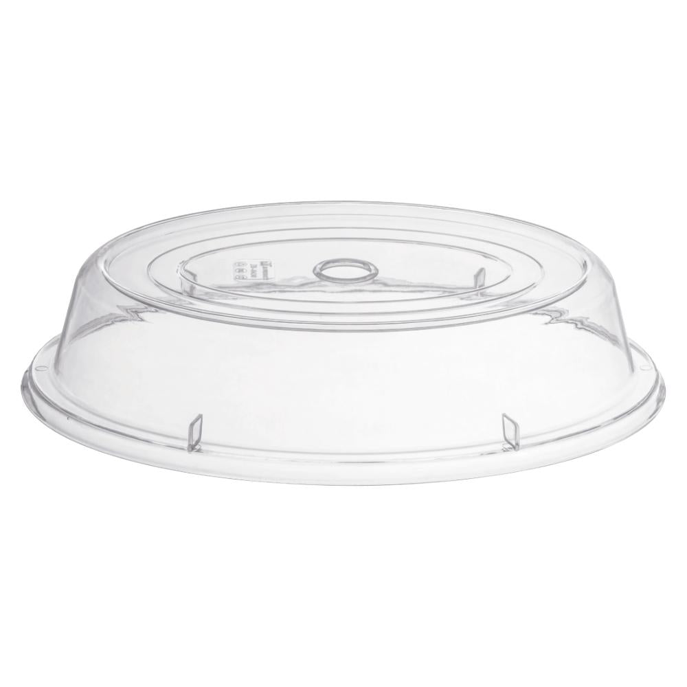PC OVAL PLATE COVER CLEAR