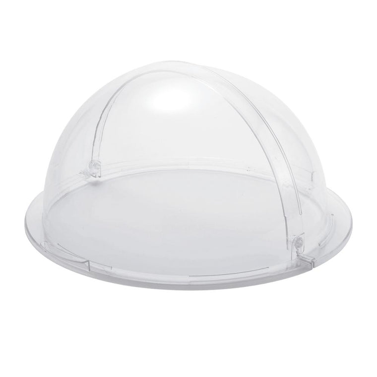 PC ROUND DOME COVER CLEAR