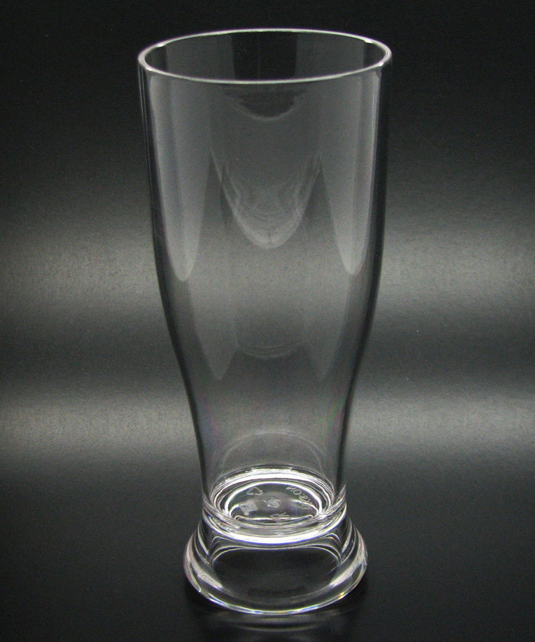 GOBLET/PILSNER POLYCARBONATE CLEAR, SET OF 6