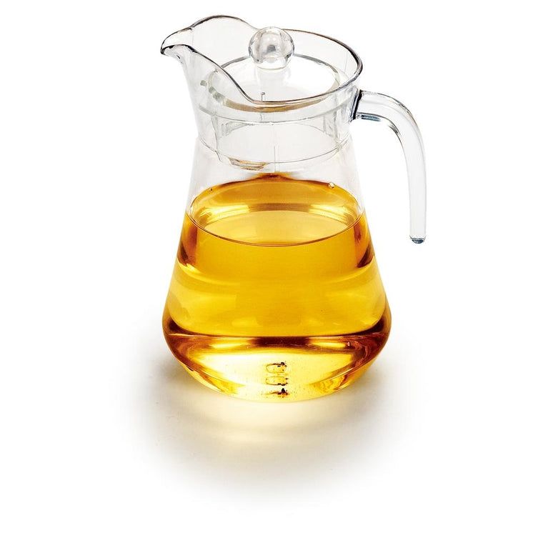 PC BEER JUG W/LID CLEAR