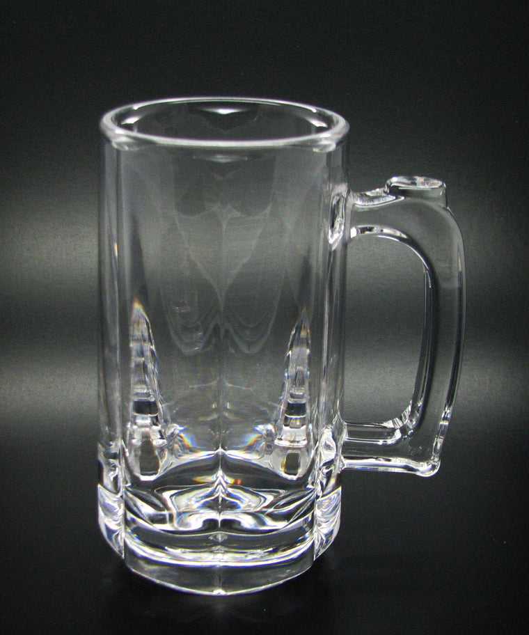 BEER MUG PC CLEAR, SET OF 6