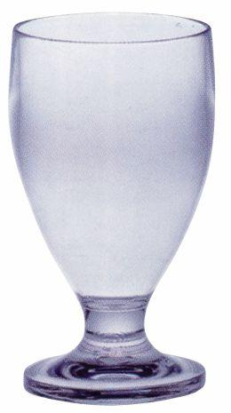 PC GOBLET GLASS CLEAR, SET OF 6