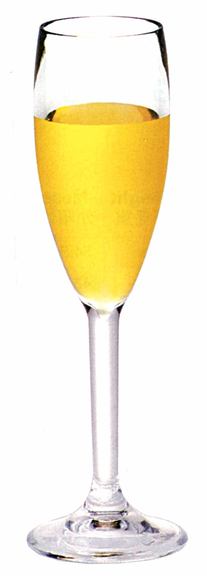 PC CHAMPAGNE FLUTE CLEAR, SET OF 6