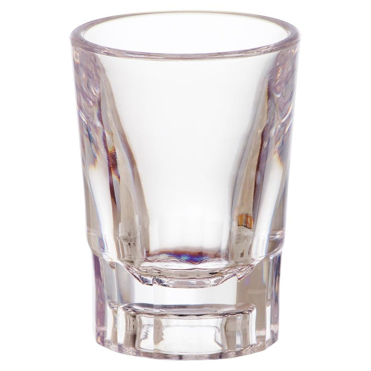 PC SHOT GLASS CLEAR, SET OF 6