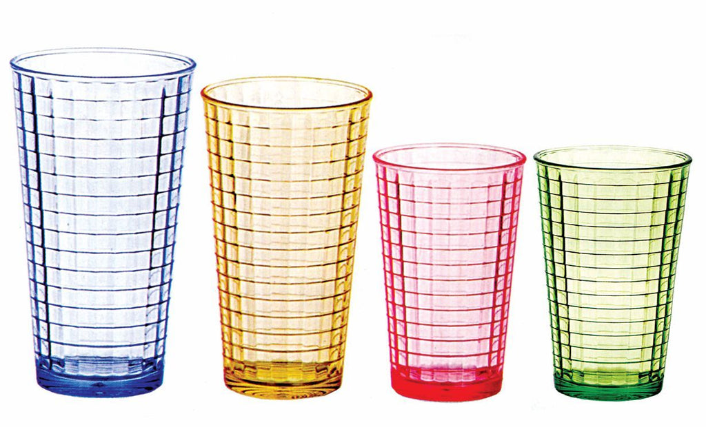 PC SWIRL TUMBLER, SET OF 6