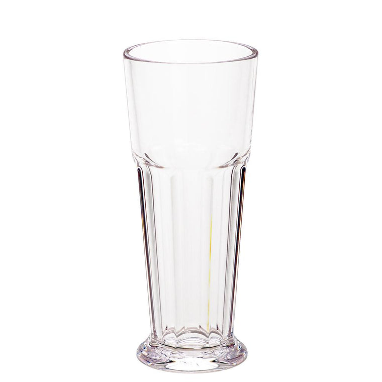 PC FOOTED PILSNER CLEAR, SET OF 6