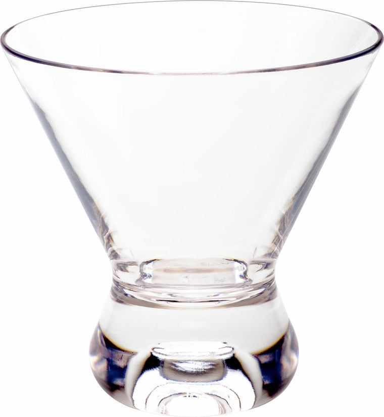 PC COSMOPOLITAN DOUBLE ROCK CLEAR, SET OF 6