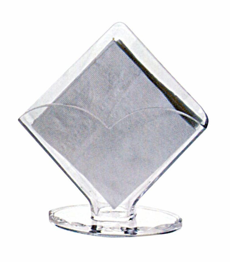 ACRYLIC NAPKIN HOLDER CLEAR