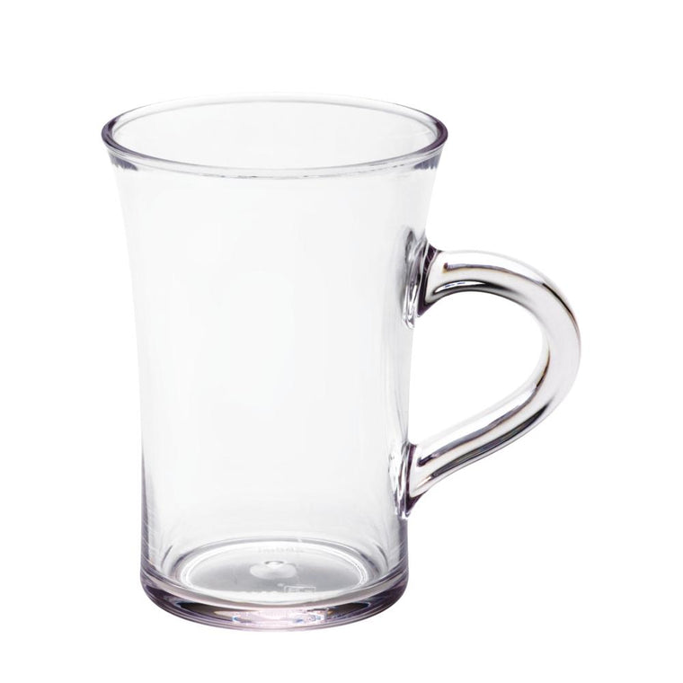 PC BEER MUG CLEAR, SET OF 6
