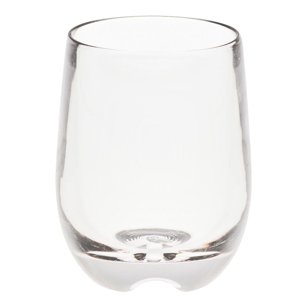PC BOWL SHAPE ROOM TUMBLER CLEAR, SET OF 6
