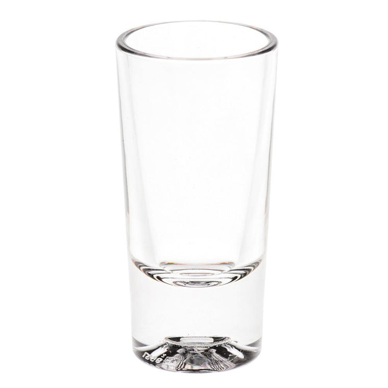 PC SHOTER GLASS CLEAR, SET OF 6