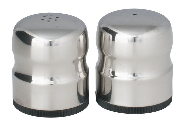 Royal Steel Stainless Steel Salt & Pepper Shaker Set