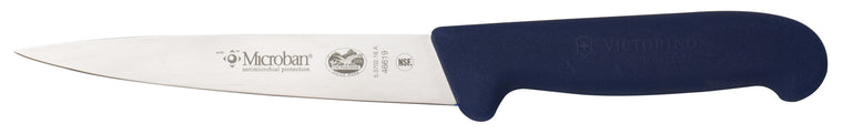 Victorinox Filleting Knife Flexible Blade 16 cm Blue Microban