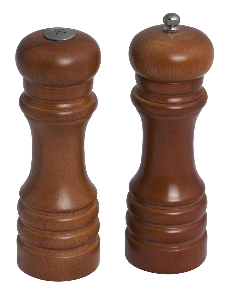 "6½"" Wooden Salt Shaker & Pepper Mill"