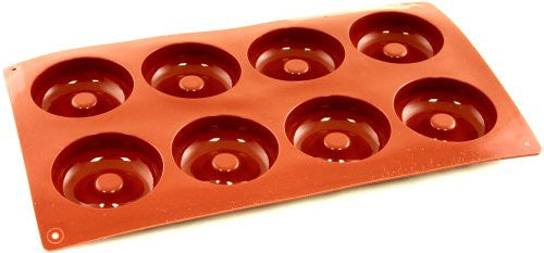 Paderno Flexible Non-Stick Baking Mould -  Savarin 65 x 20mm