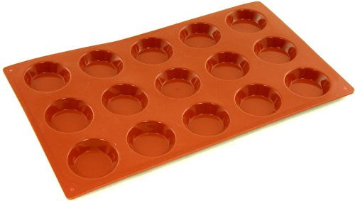 Paderno Flexible Non-Stick Baking Mould -  Tartlet 50 x 15mm