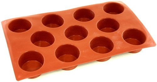 Paderno Flexible Non-Stick Baking Mould -  Mini Muffin 50 x 28mm