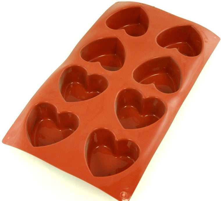 Paderno Flexible Non-Stick Baking Mould -  Heart 65 x 60mm