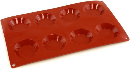 Paderno Flexible Non-Stick Baking Mould -  Florentine 60 x 12mm