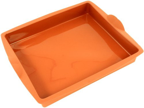 Paderno Flexible Non-Stick Baking Mould -  Rectangular 280 x 240 x 40mm