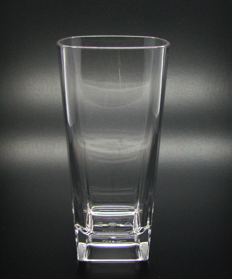 Polycarbonate Square Tumbler 12oz, Set of 6