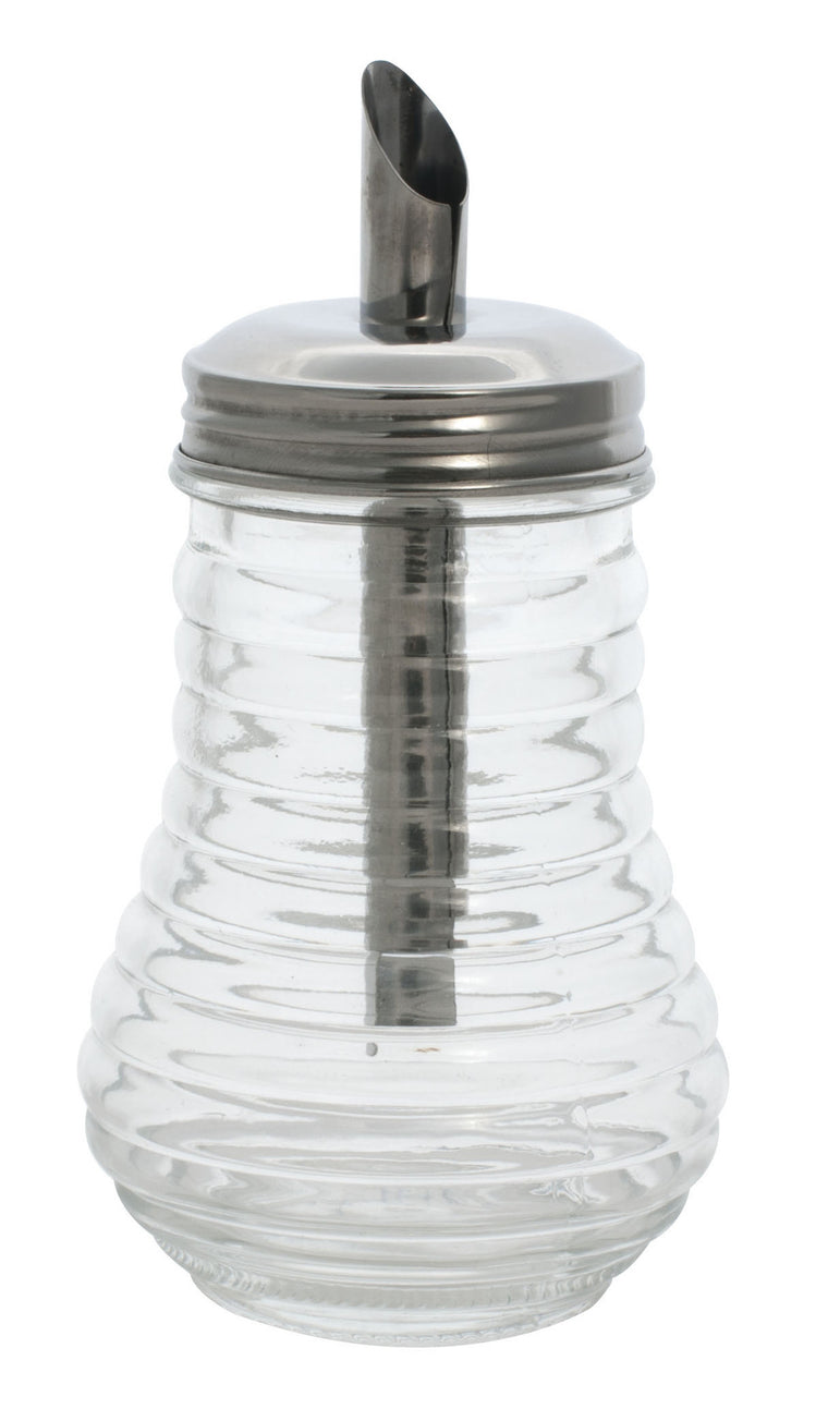 Sugar Dispenser With Spout, Glass,10oz