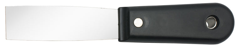"Stainless Steel 1"" Scraper with Plastic Handle"