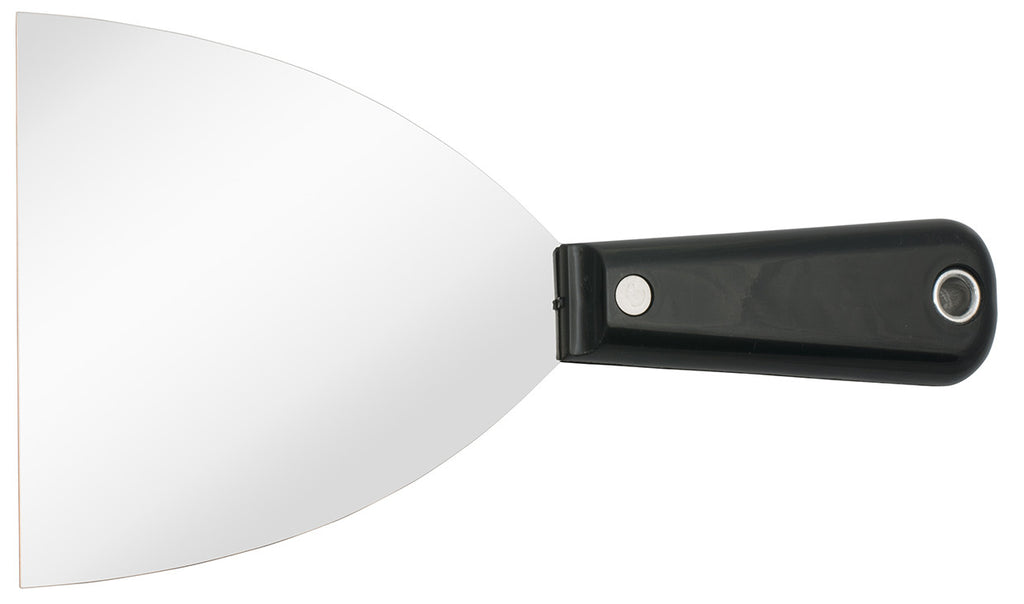 "Stainless Steel 4"" Scraper with Plastic Handle"