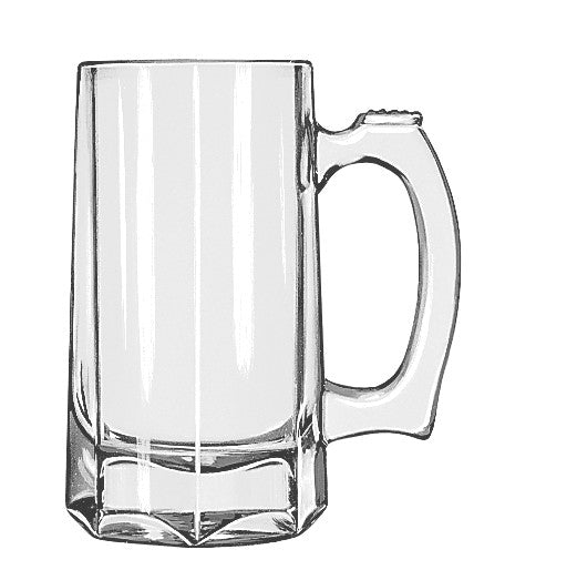 Libbey Beer Stein 12 oz, Set of 6