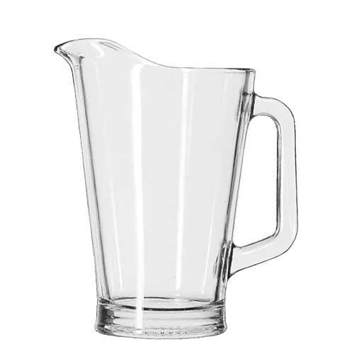 Libbey Glass Water Pitcher / Jug 60 oz, Set of 6