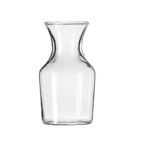 Libbey Glass Decanter/Bud Vase, Set of 6