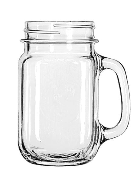 Libbey Drinking Jar, Set of 12