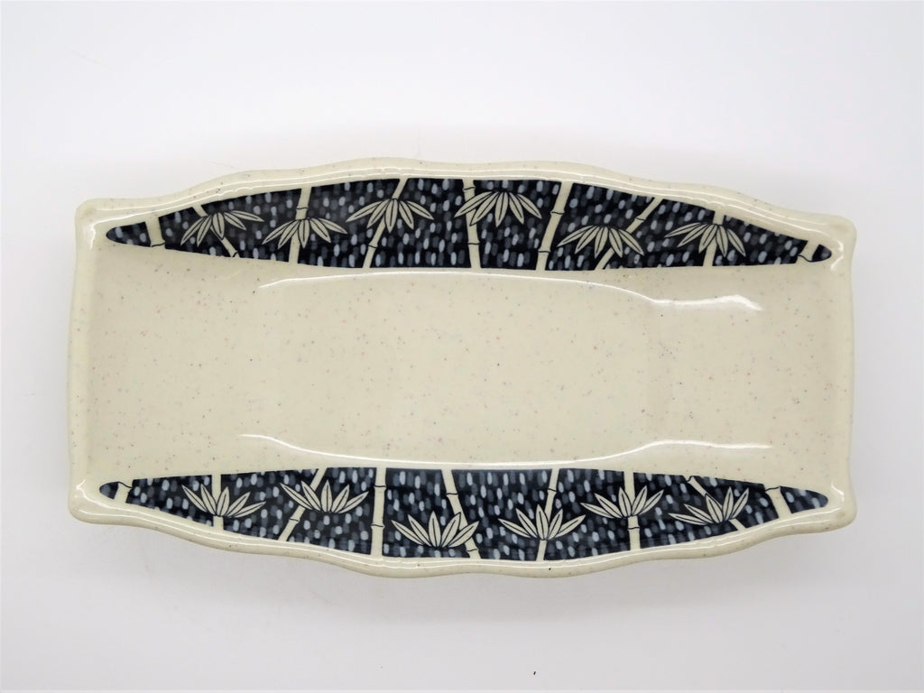 Deep Oblong Plate, Set of 6