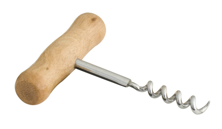 Corkscrew Spiral with Wooden Handle