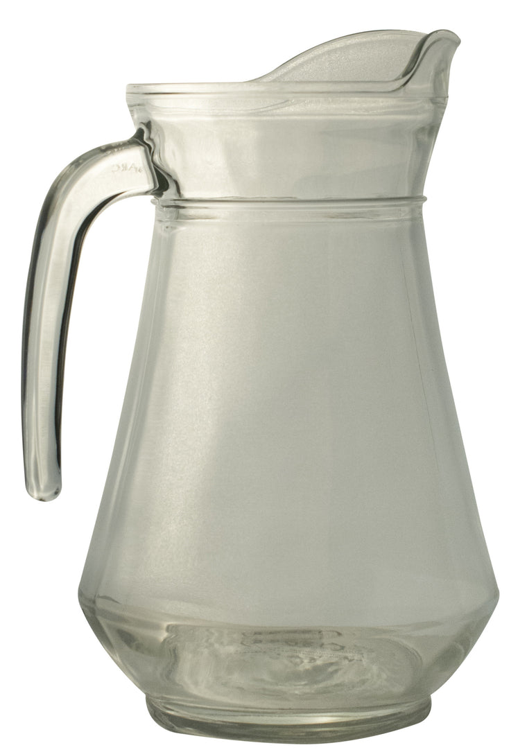 Glass Water Jug, 1.3 litre