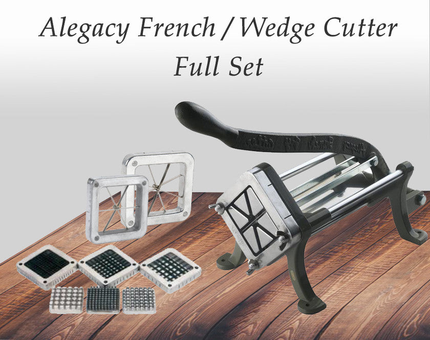 ALEGACY FRENCH FRY/WEDGE CUTTER, FULL SET
