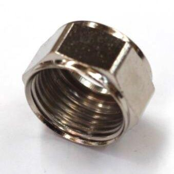 5/8 Inch Hex Nut for Keg Coupler or Tap Shank - Three Chins Brewing