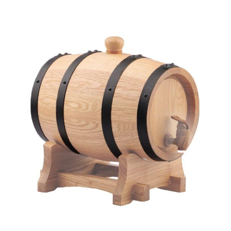 5L American White Oak Barrel + Free Barrel Wax - Three Chins Brewing