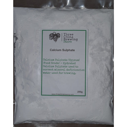 Calcium Sulphate (gypsum) - Three Chins Brewing