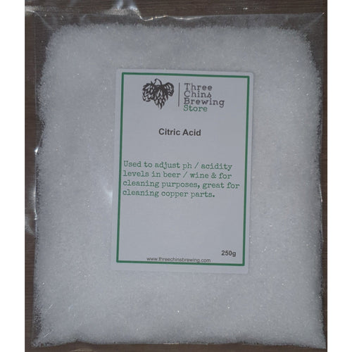 Citric Acid 250g - Three Chins Brewing