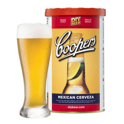 Coopers Mexican Cerveza - Three Chins Brewing