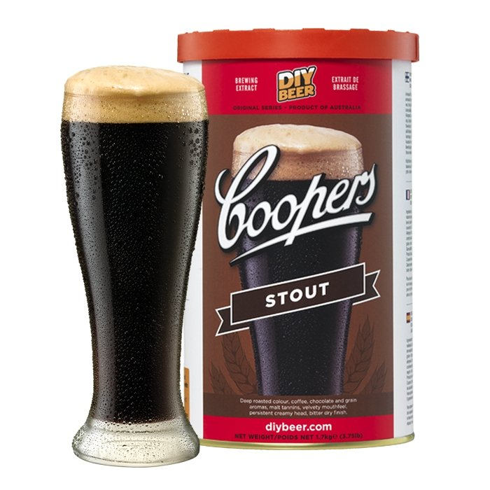 Coopers Stout - Three Chins Brewing
