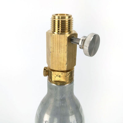 Deluxe Sodastream Cylinder Adapter (with pin adjustment) - Three Chins Brewing