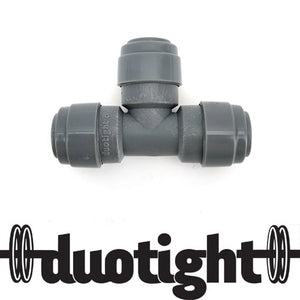 duotight 8mm(5/16) Push In Tee Piece (Double O-Ring) - Three Chins Brewing
